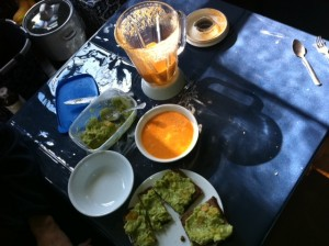 Alternative Preparation: Guacamole with Tomato Soup