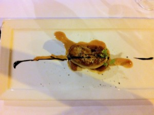 Foie Gras with Caramalized Apples