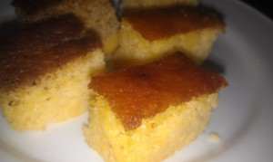 House Corn Bread at Le Meridien