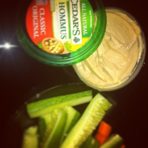 Cedar's Hummus is tasty, smooth, and authentic. All flavors have wholesome ingredients, except for the Sundried Tomato and Basil.