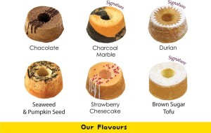 You can choose from a variety of very interesting flavour combinations!