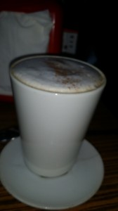 (Gluten-free) Chai lattes are abundantly available in South Africa - perfect for a chai freak like Daisy!