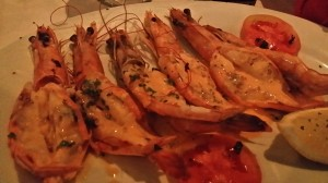 Lots of grilled goodies in South Africa, especially seafood! Almost always gluten-free. Check for glazes or marinades.