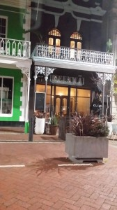"""""""Keenwai"""" in downtown Cape Town: A lovely little restaurant with many GF options!"""
