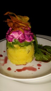 """Keenwai"" in Cape Town: A beautiful Veggie Tower. Yummy too!"
