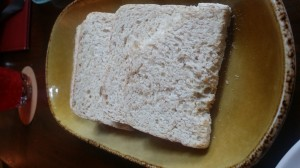 The house-made gluten-free bread had a great texture!