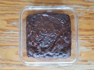 The Classic Slash Basic 3-Ingredient Brownie... done in less than 30 minutes FLAT!